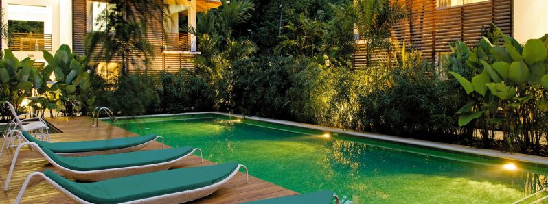 Le Cameleon Hotel a luxury Resort in the Caribbean Coast of Costa Rica