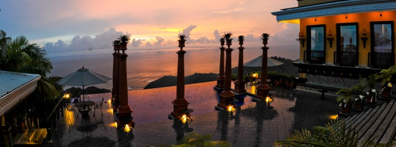 The luxury of Villa Caletas, in the mid Pacific Costa Rica