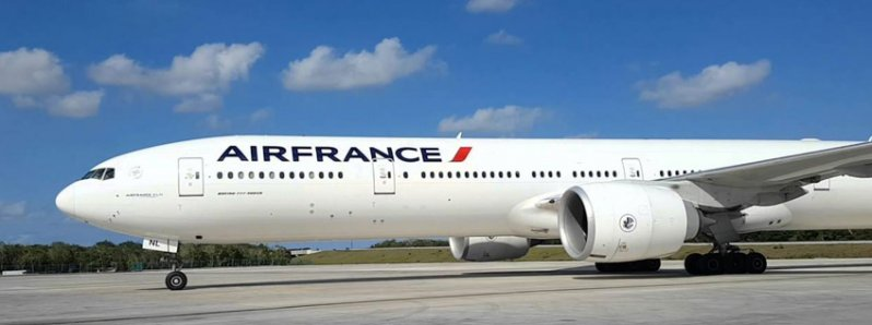 Air France initiates today its operations in Costa Rica