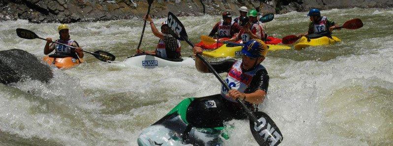 Costa Rica, host country of the Pan American Kayak Championship